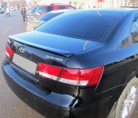 Спойлер Хендай Соната 5 НФ (задний спойлер на багажник Hyundai Sonata NF)
