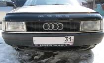 Дефлектор капота Ауди 80 Б3 (мухобойка для Audi 80 B3)