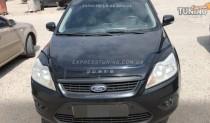 VIP Tuning Дефлектор на Ford Focus 2 FL длинный (мухобойка для Форд Фокус 2 рестайл)