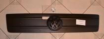 Зимняя накладка на решетку радиатора Фольксваген ЛТ 35 (матовая решетка Volkswagen LT-35)