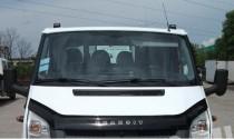 Дефлектор капота Форд Транзит 6 (мухобойка на капот Ford Transit 6)