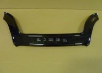 Дефлектор капота Фиат Линеа (мухобойка на капот Fiat Linea)