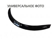 Дефлектор капота Хонда Цивик 9 седан (мухобойка на капот Honda Civic 9 4D)