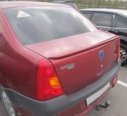 Лип спойлер на крышку багажника Дачия Логан 1 поколения (Faza 1)