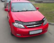Мухобойка для Chevrolet Lacetti hatchback (дефлектор капота на Шевроле Лачетти хэтчбек)