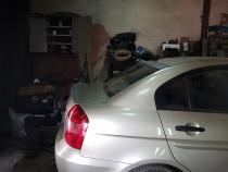 Купить спойлер багажника Хендай Акцент 3 (лип спойлер на Hyundai