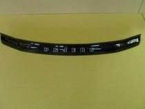 Дефлектор капота Митсубиси Паджеро Вагон 3 (мухобойка на капот Mitsubishi Pajero Wagon 3)