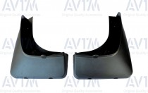 Задние брызговики на BMW X5 Е70 2007-2013 (комплект 2шт)