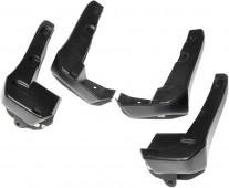 Брызговики на Honda Civic 10 седан (комплект 4 шт)