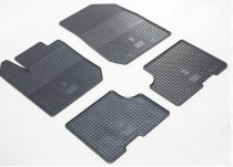 Резиновые коврики Renault Logan 2 (коврики в салон Рено Логан 2)