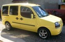 Купить реснички на передние фары Фиат Добло 1 (Fiat Doblo 1 тюни