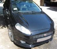 Накладки на передние фары Fiat Grande Punto (реснички декоративн