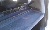 Задняя полка в багажник Киа Соул (тюнинг Kia Soul)