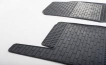 Резиновые коврики Ford Fiesta 6 (комплект ковров салона Форд Фиеста 6)