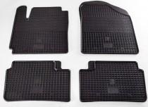 Резиновые коврики Hyundai i10 (коврики в салон Хендай Ай10)