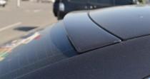 Задний спойлер на стекло Ауди А4 Б6 установка