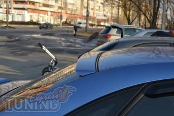 Спойлер на заднее стекло Chevrolet Lacetti седан (магазин Expres