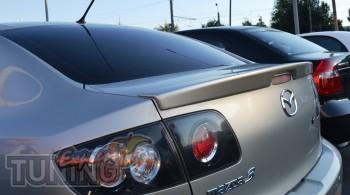 Спойлер на багажник Mazda 3 седан