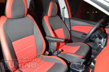 Чехлы Тойота Ярис (авточехлы на сиденья Toyota Yaris)