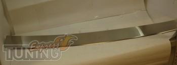 Накладка на задний бампер БМВ Х6 Е71 (защитная накладка бампера