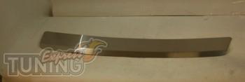 Накладка на задний бампер Chevrolet Lacetti Hb (защитная накладк