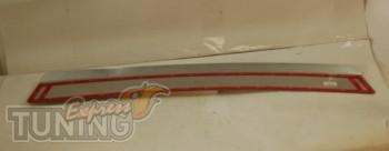 защитная накладка бампера Chevrolet Lacetti Hb