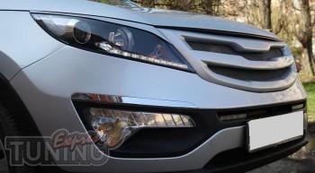 Тюнинг решетка на Kia Sportage 3 (RoadRuns)