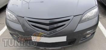 Купить решетку радиатора Mazda 3 седан (фото ExpressTuning)