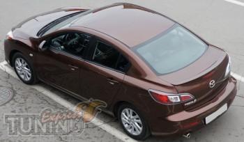 Сабля спойлер на багажник Mazda 3 (2 поколение)