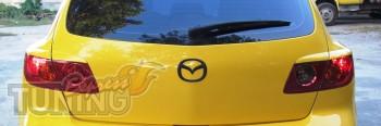 Купить реснички на задние фары Mazda 3 5d
