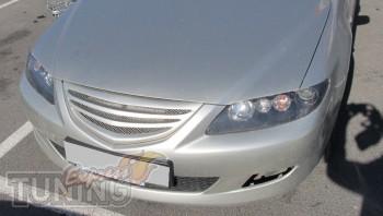 Тюнинг решетка Мазда 6 седан (рестайлинг 2005-2008 годов выпуска