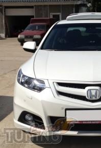 Купить реснички на фары Хонда Аккорд 8 (дорестайлинга)