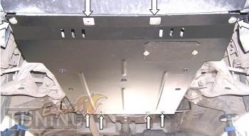 Защита двигателя Mercedes Viano (защита картера Мерседес Виано)