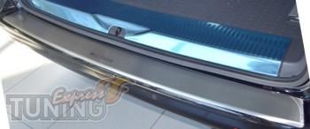 Накладка на задний бампер Фольксваген Транспортер Т5 (защитная н