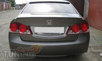 Фирменный спойлер на багажник Хонда Цивик 4д седан