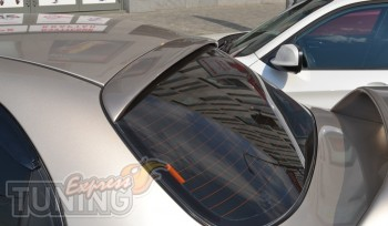 Спойлер накладка на стекло Lanos седан