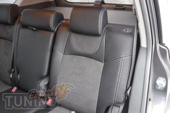Автомобильные чехлы в машину Тойота Прадо 150 (чехлы Toyota Prad