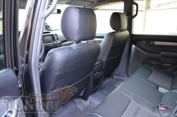 Автомобильные чехлы в авто Тойота Прадо 120 (чехлы Toyota Prado