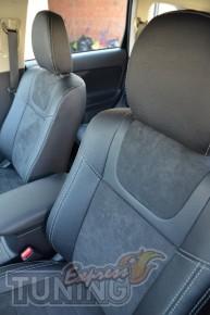 Автомобильные чехлы в авто Митсубиси Аутлендер 3 (Чехлы Mitsubis