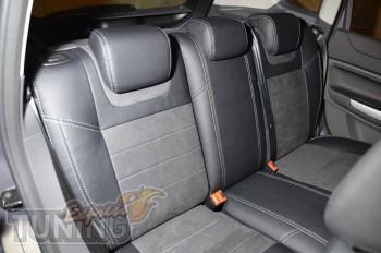 Автомобильные чехлы Форд Куга 1 (Чехлы Ford Kuga 1 купить в инте
