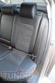 Автомобильные чехлы в машину Фольксваген Пассат Б7 (чехлы Volksw