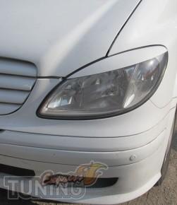 Купить реснички на передние фары Mercedes Vito W639 / Вито 639