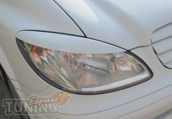 Декоративные реснички на фары Mercedes Vito 639 / Viano
