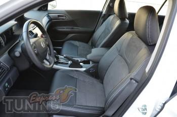 Автомобильные чехлы Хонда Аккорд 9 (Чехлы Honda Accord 9)