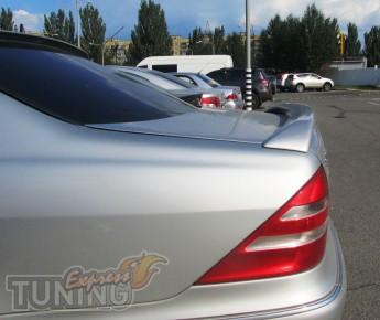 Оригинальный задний спойлер Mercedes W220 (установка на две точк