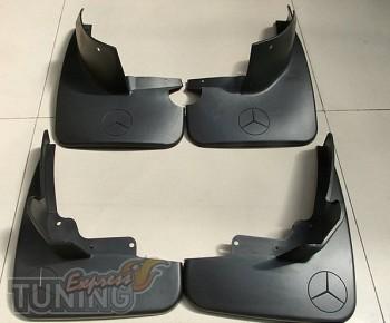 Брызговики Мерседес МЛ 164 (оригинальные брызговики Mercedes ML