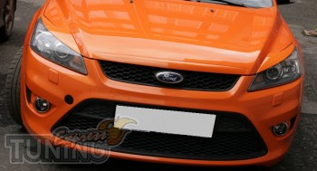 Оригинальные реснички на передние фары Форд Фокус 2 заказать