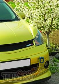 Заказать реснички на передние фары Nissan Note (ExpressTuning)