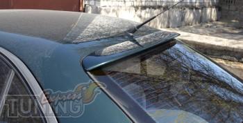 Тюнинговая накладка спойлер на стекло Опель Омега Б (1993-1999)