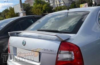 Спойлер на багажник Шкода Октавия А5 (RS)
